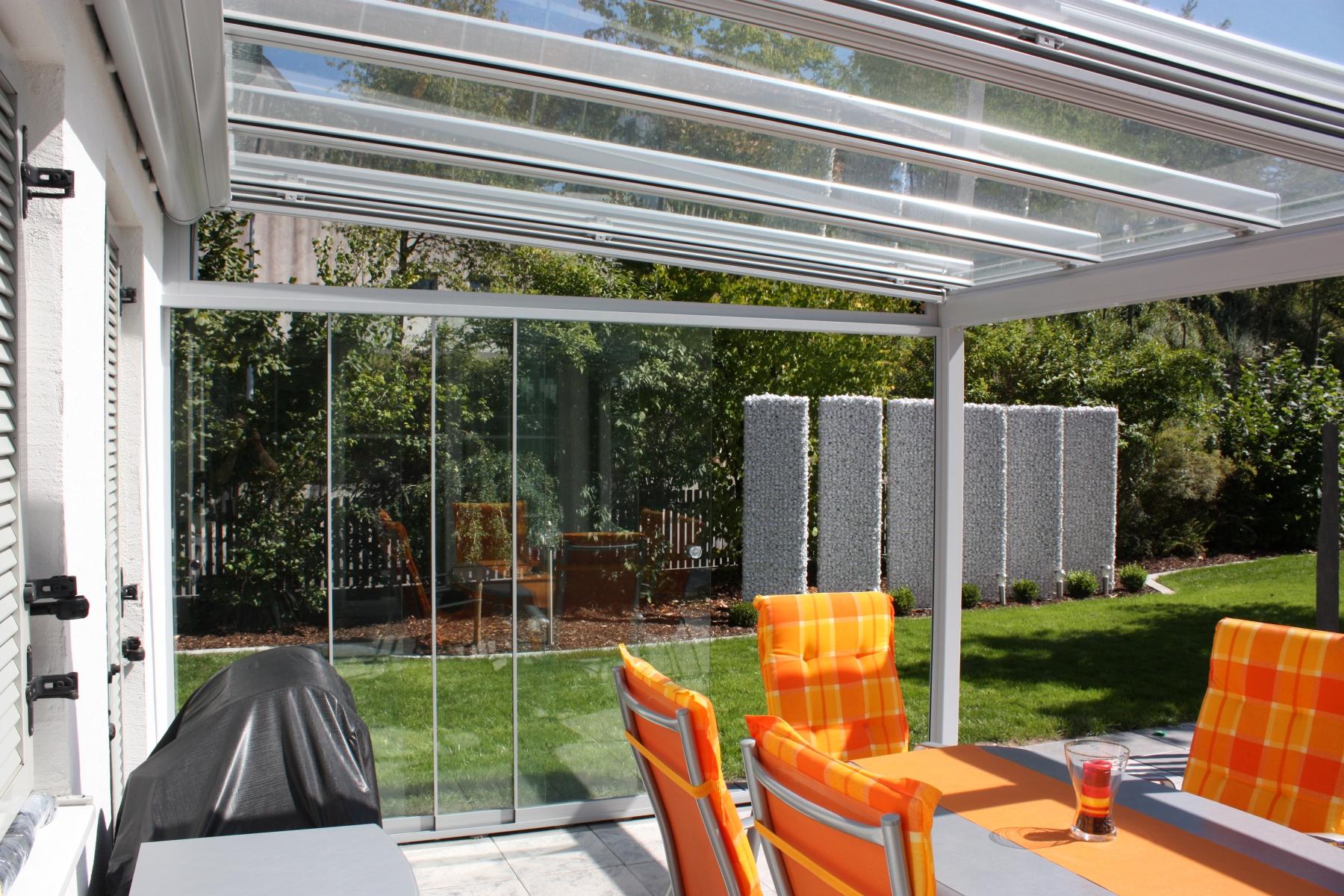 Hier einige Impressionen und Möglichkeiten von Glasbauelemnten